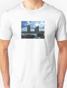 Miami Coast Buildings Unisex T-Shirt