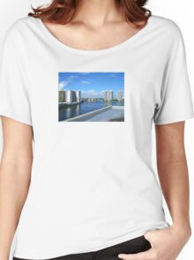 Miami Coast Buildings Women's Relaxed Fit T-Shirt