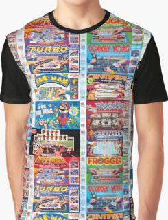 Arcade Board Games Graphic T-Shirt