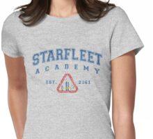 Star Fleet Academy Dark Vintage Womens Fitted T-Shirt