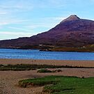 Panorama of Loch Assynt and Ardvreck Castle by Steve