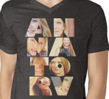 Anna Torv  Mens V-Neck T-Shirt