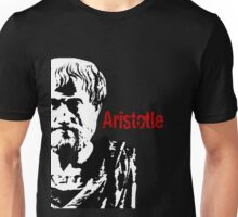Aristotle, Greek Chronicler, Philosopher & Scientist 384-322 BCE Unisex T-Shirt