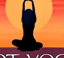 Hot Yoga Sticker