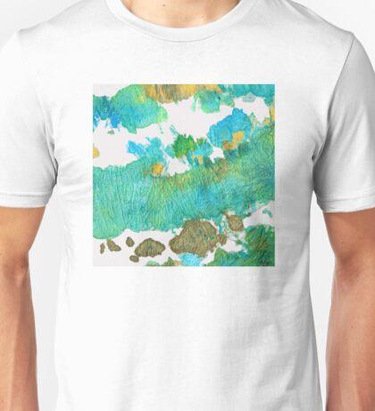 Green Earthy Abstract - Earth Dance - Sharon Cummings Unisex T-Shirt