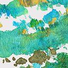 Green Earthy Abstract - Earth Dance - Sharon Cummings by Sharon Cummings