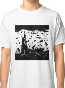 Psycho Attack - Black Print Classic T-Shirt