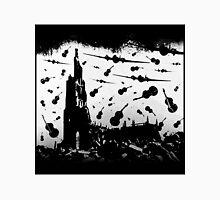 Psycho Attack - Black Print Unisex T-Shirt