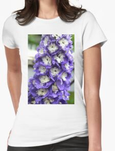 Delphinium  Womens Fitted T-Shirt