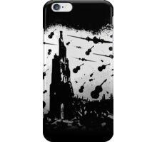 Psycho Attack - White Print iPhone Case/Skin