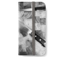 Knife iPhone Wallet/Case/Skin