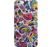 Paisley Rainbow 02 iPhone Case/Skin
