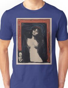 Edvard Munch - Madonna 1. Munch - woman portrait. Unisex T-Shirt