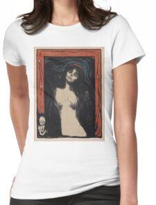 Edvard Munch - Madonna 1. Munch - woman portrait. Womens Fitted T-Shirt