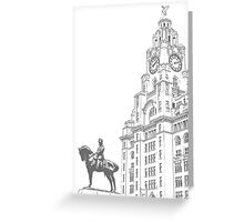 Liverpool Greeting Card