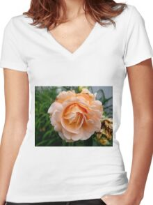 A Rose is a Rose Women's Fitted V-Neck T-Shirt