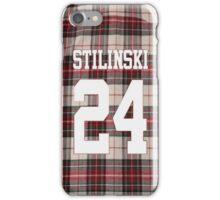 Stiles Stilinski 24 flannel iPhone Case/Skin