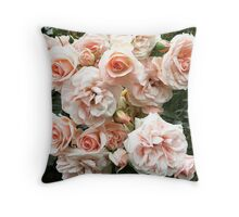 Heirloom Roses Throw Pillow