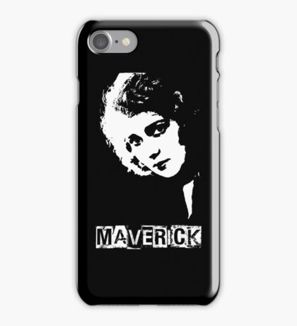 Maverick - Ode to Mary Pickford iPhone Case/Skin