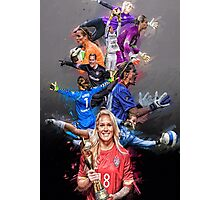 Ashlyn Harris From University of North Carolina to Orlando Pride + National Team Photographic Print