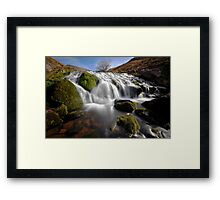 Lady of the Lake Falls Framed Print