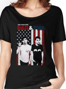 Dan and Phil Tour Women's Relaxed Fit T-Shirt