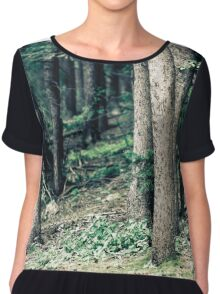Trees Chiffon Top