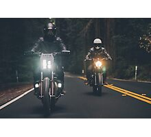 Motor bikers Photographic Print