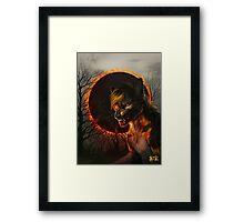 Hell Above Framed Print