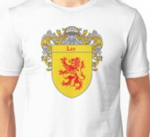Lee Coat of Arms/Family Crest Unisex T-Shirt