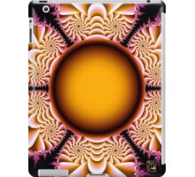 The Mad Hatter Spiral Staircases fractal swirls iPad Case/Skin