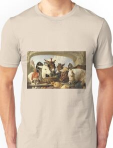 Edwin Landseer - A Group Of Animals, Geneva 1851.  Landseer  Unisex T-Shirt