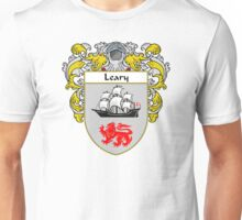 Leary Coat of Arms/Family Crest Unisex T-Shirt