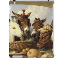 Edwin Landseer - A Group Of Animals, Geneva 1851.  Landseer  iPad Case/Skin