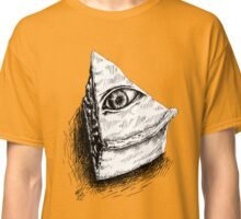 The All Seeing Pie Classic T-Shirt