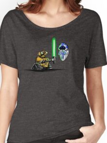 Happy Droids  Women's Relaxed Fit T-Shirt