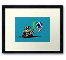 Happy Droids  Framed Print