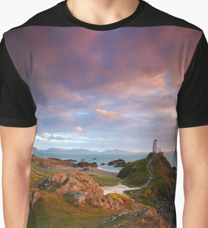 Llanddwyn Light Graphic T-Shirt