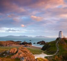 Llanddwyn Light Sticker