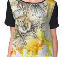 A relaxed hedgehog... Chiffon Top