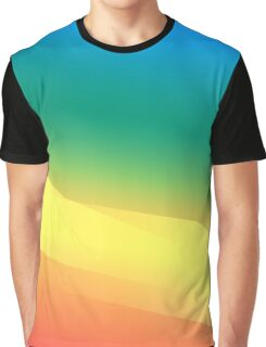 Colourful Abstract Graphic T-Shirt