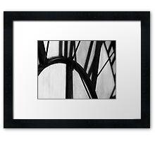 Time Frame II Framed Print