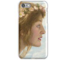 Edward Robert Hughes - Day.  Robert Hughes - woman portrait. iPhone Case/Skin