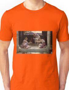 Edward Poynter - When The World Was Young 1891. Poynter - woman portrait. Unisex T-Shirt