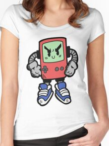 Game Punk - RED Version Women's Fitted Scoop T-Shirt