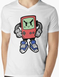 Game Punk - RED Version Mens V-Neck T-Shirt