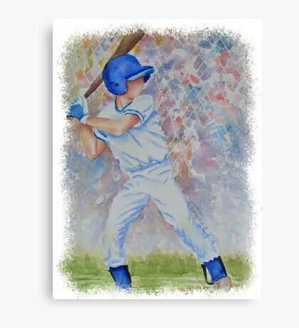 SPORTY - BASEBALL GAME Canvas Print