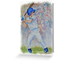 SPORTY - BASEBALL GAME Greeting Card
