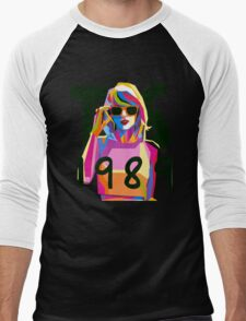 WPAP Taylor Swift 1989 Men's Baseball ¾ T-Shirt