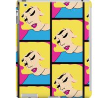 Girl with the thick lashes iPad Case/Skin